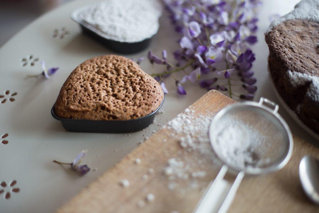 torta al cioccolato senza burro-7