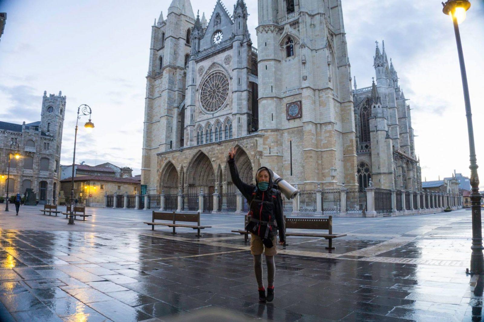 cattedrale di Leon cammino di Santiago