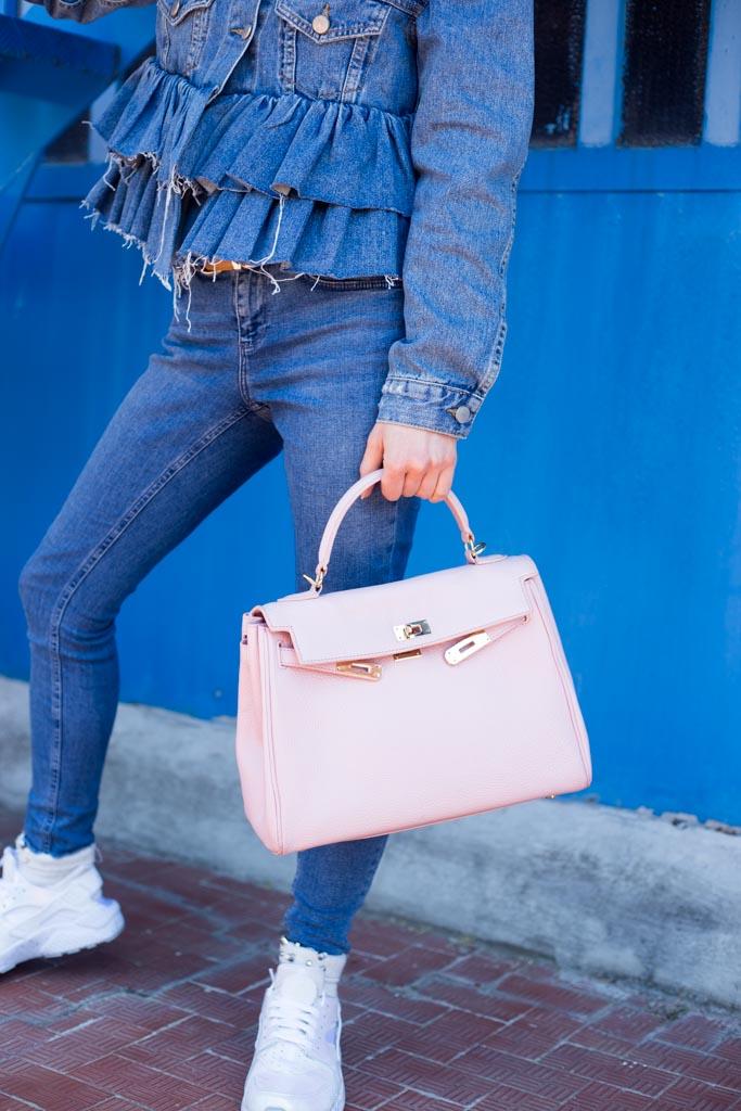borsa hermès rosa