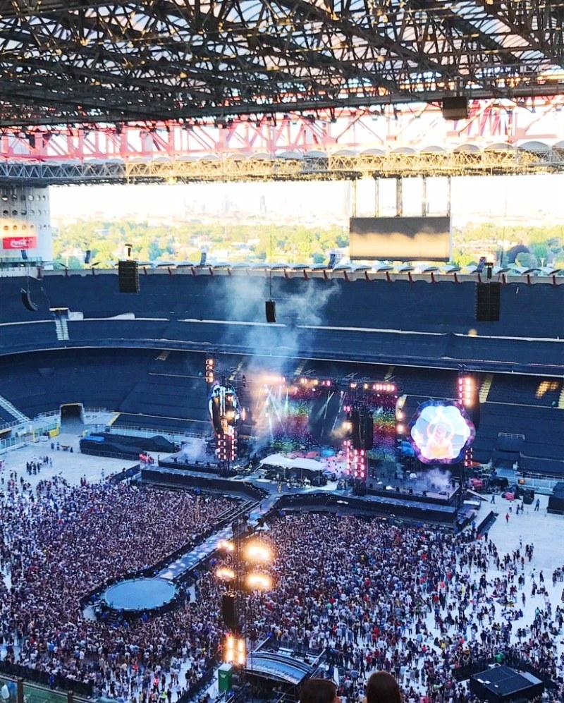 Concerto Coldplay a Milano