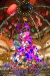 benvenuti a Parigi albero di natale lafayette