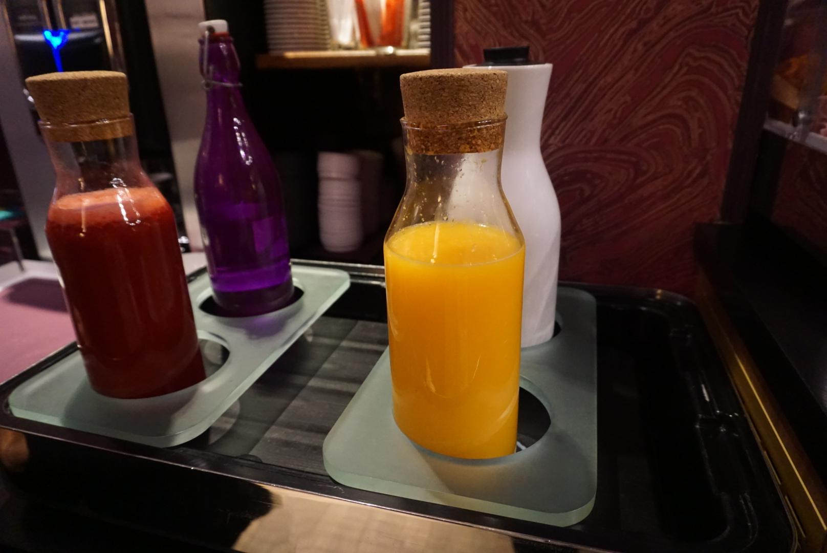 idol hotel colazione succo di frutta