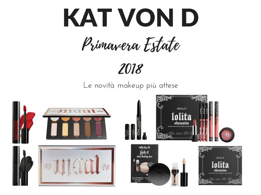 KAT VON D PRIMAVERA ESTATE 2018