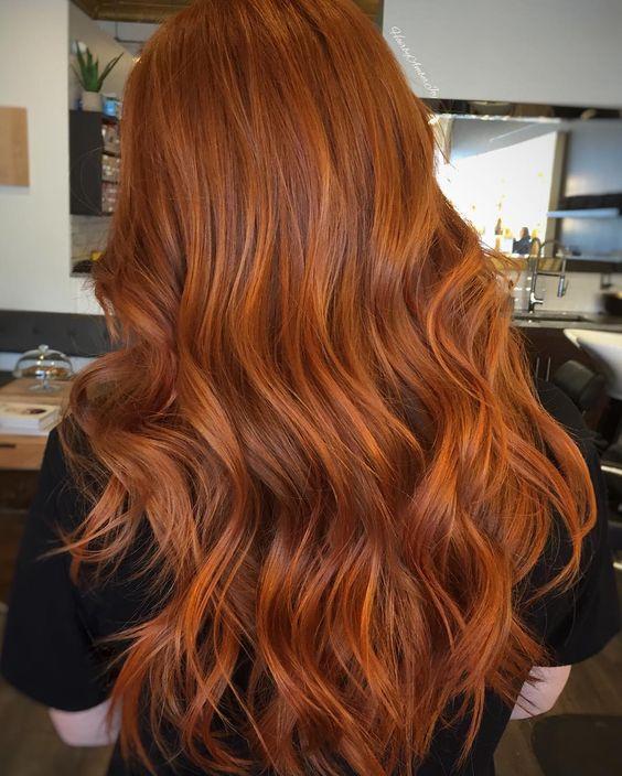 capelli rossi come sfumature simil naturali