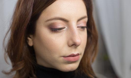 Chocolate Gold Palette Makeup Look: video tutorial per un trucco GOLD