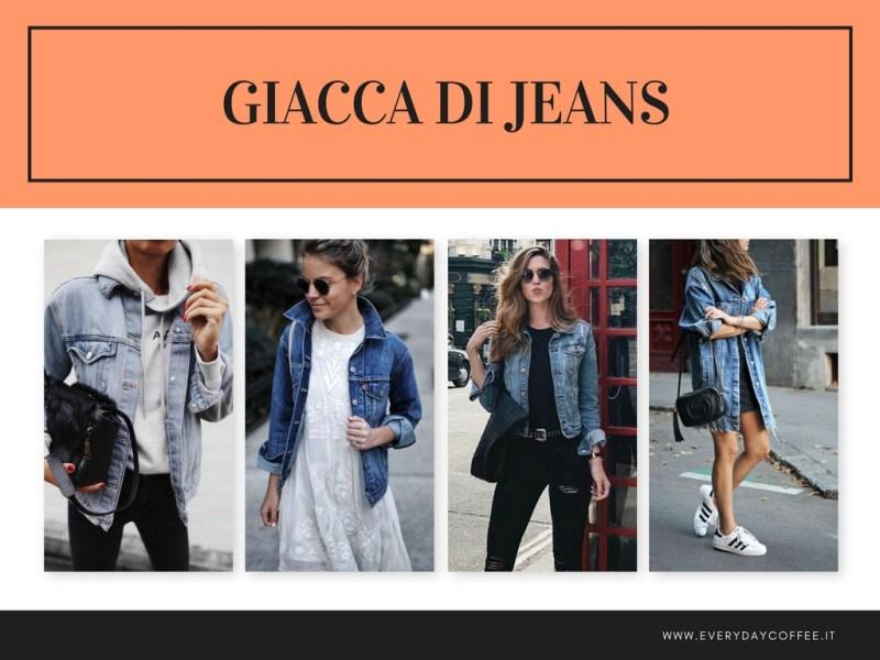 giacca di jeans MEZZA STAGIONE
