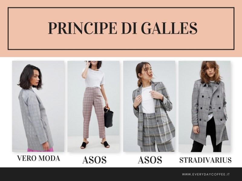 tendenza moda primavera estate 2018 principe di galles