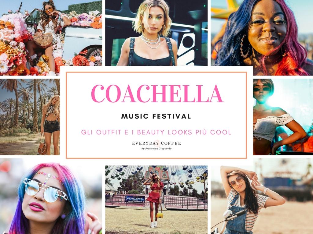 Coachella 2018 gli outfit e i makeup più cool della prima settimana