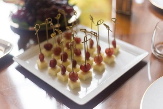 merenda con formaggio e uva al four season firenze
