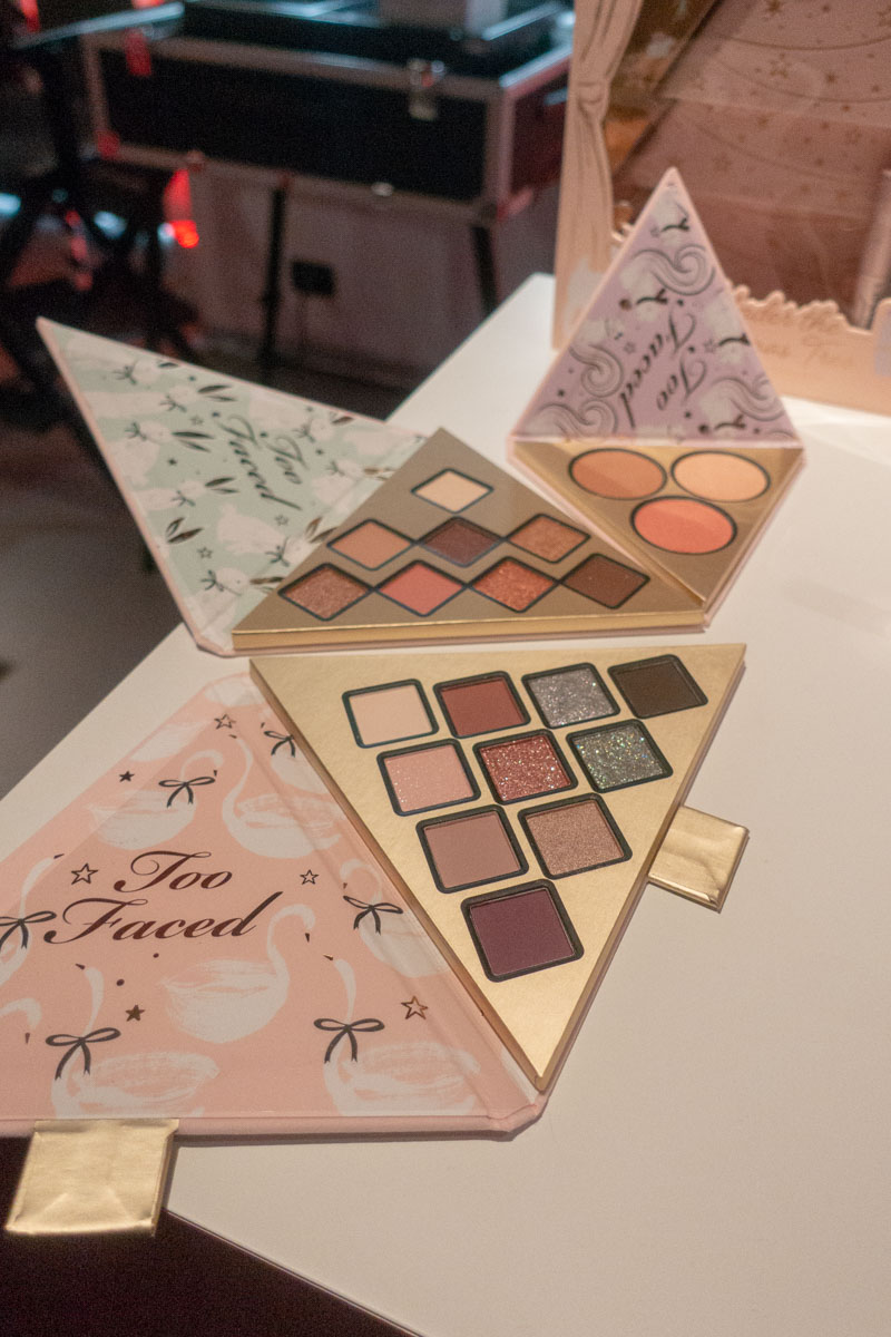 palette Too Faced Natale 2018