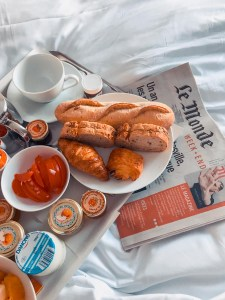 colazione hotel le senat parigi