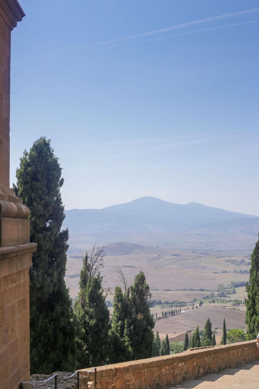 pienza punto panoramico