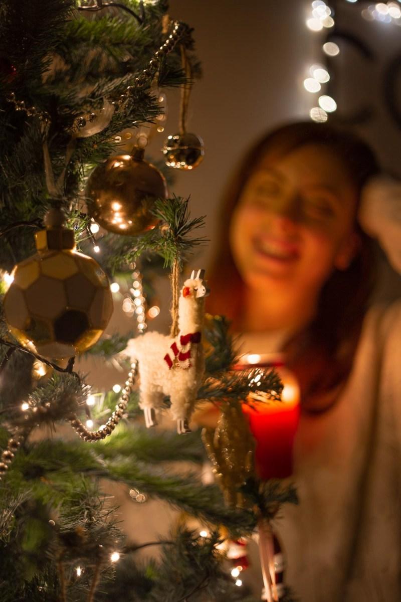 troppotogo decorazione natalizia alpaca
