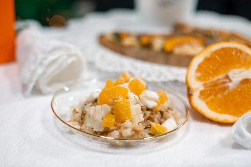 insalata di riso cavolfiore finocchio e arancia