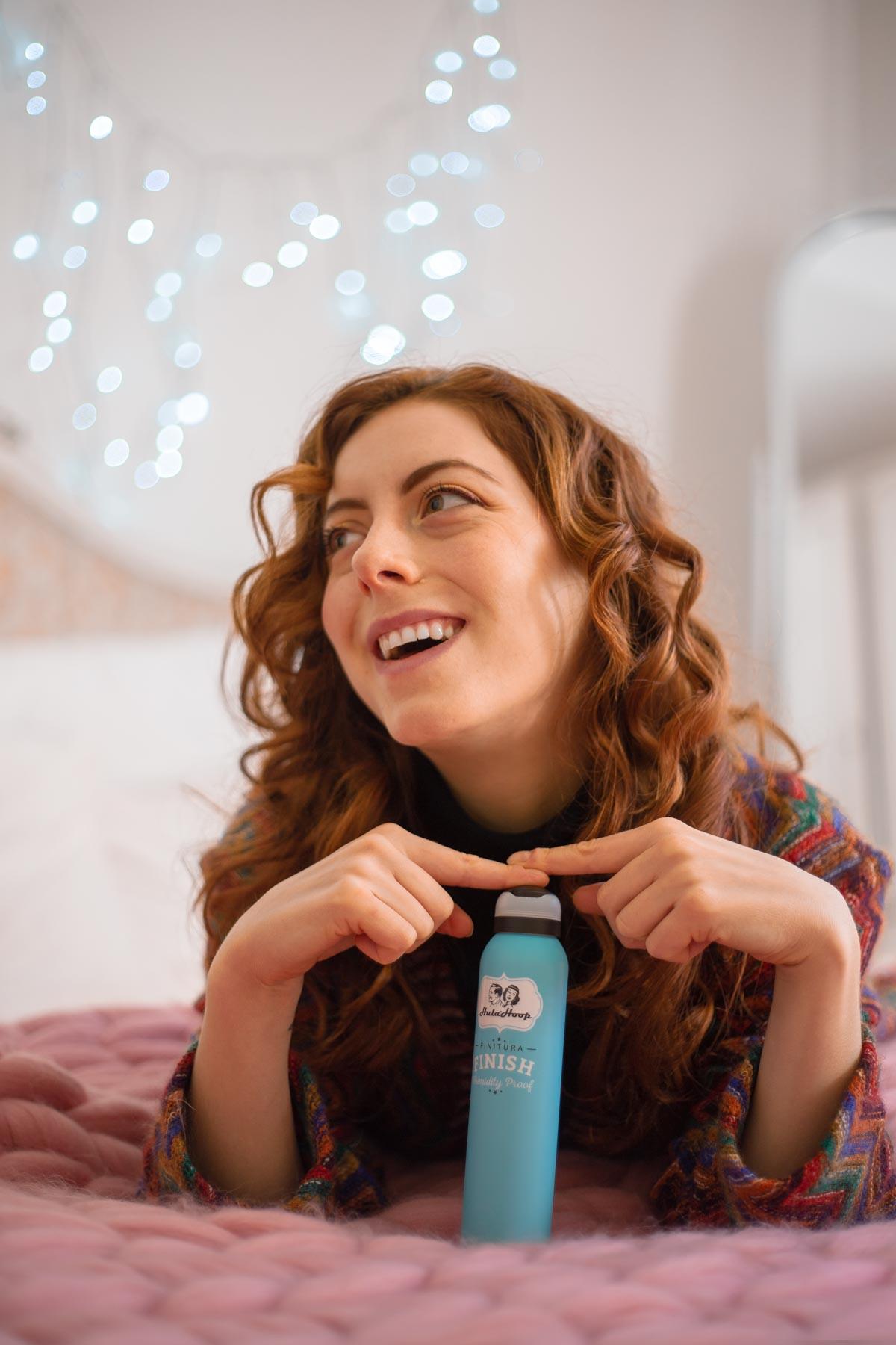Combattere i capelli crespi con emsibeth