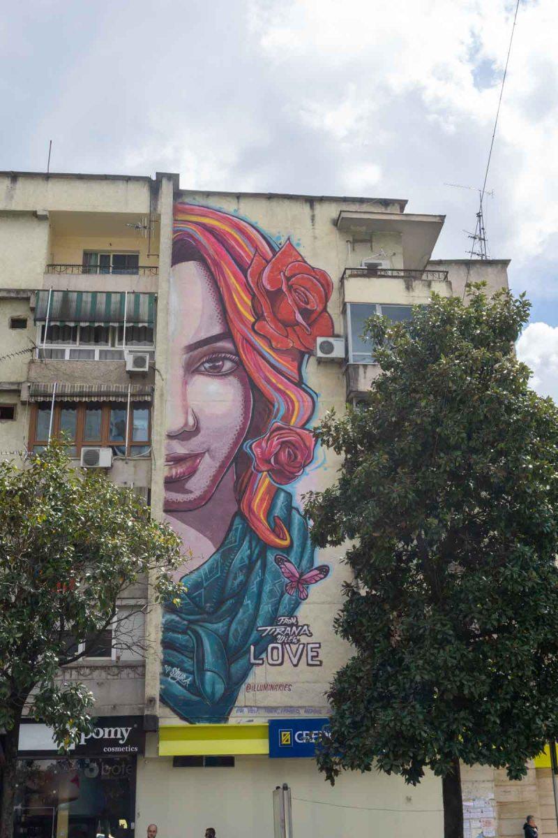 street art tirana