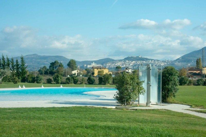 Valle di Assisi Hotel Spa & Golf piscina esterna