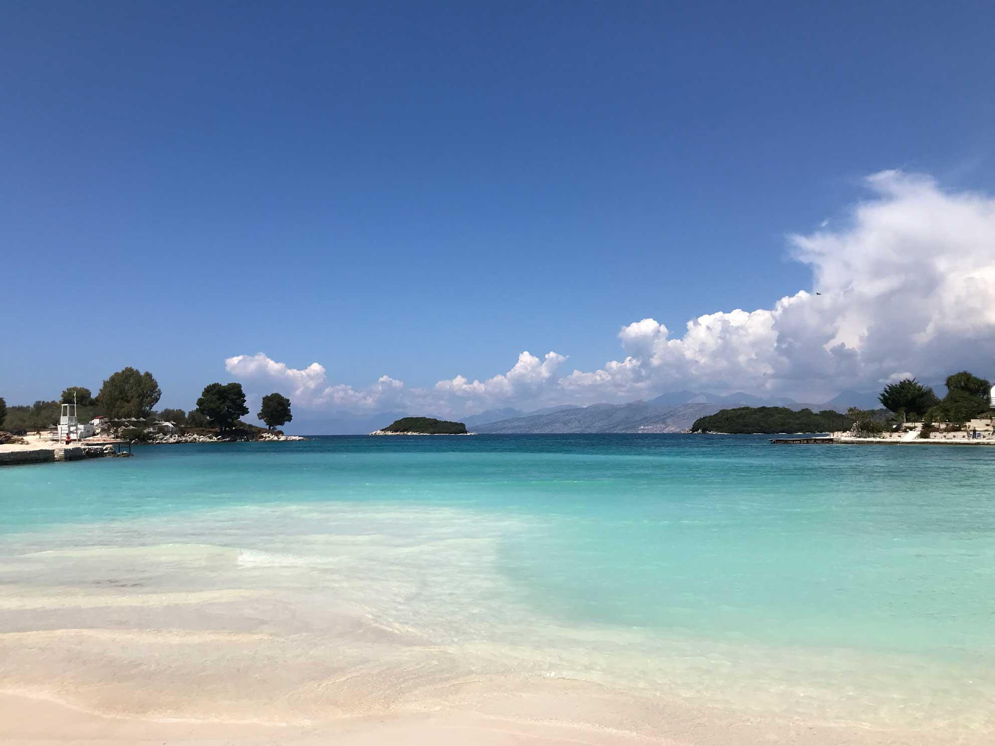 le spiagge più belle in albania ksamil