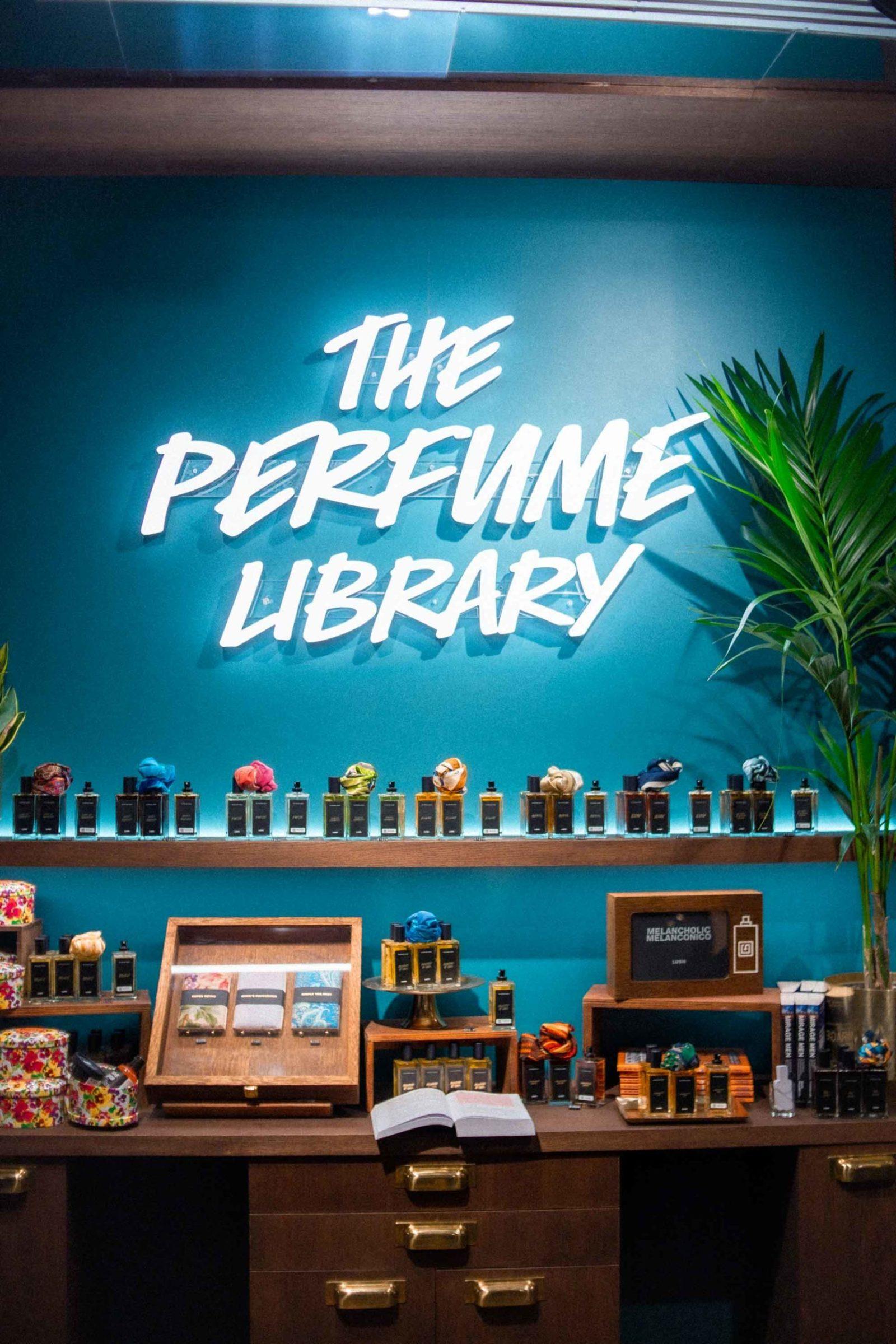 lush perfume library