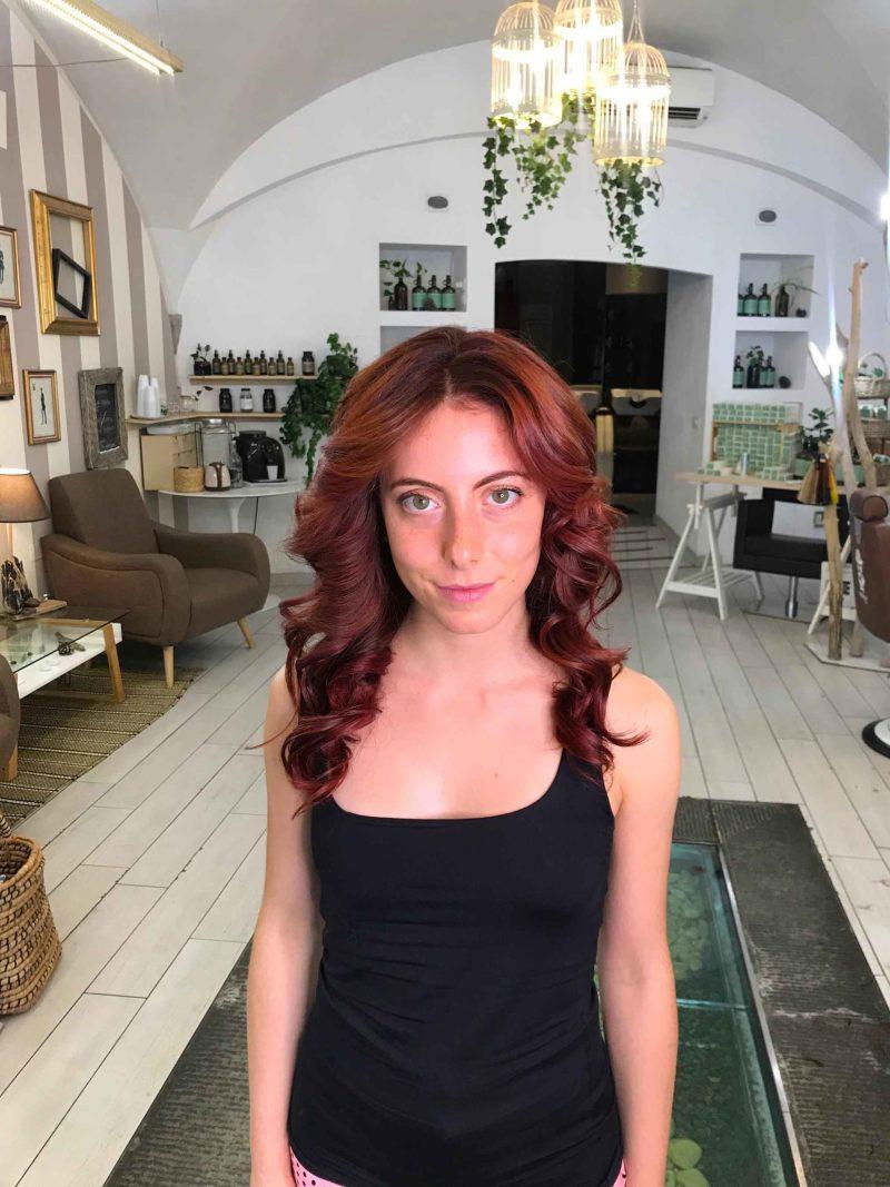 tinta per capelli rossi naturale
