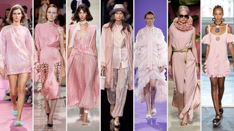 colore must have per la primavera estate 2020 il rosa pastello