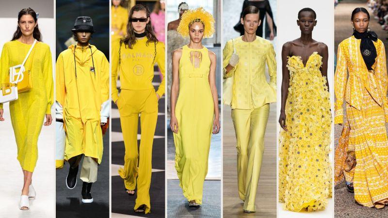 giallo canarino colori primavera 2020