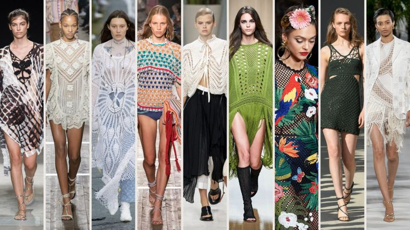 tendenza uncinetto crochet primavera estate 2020