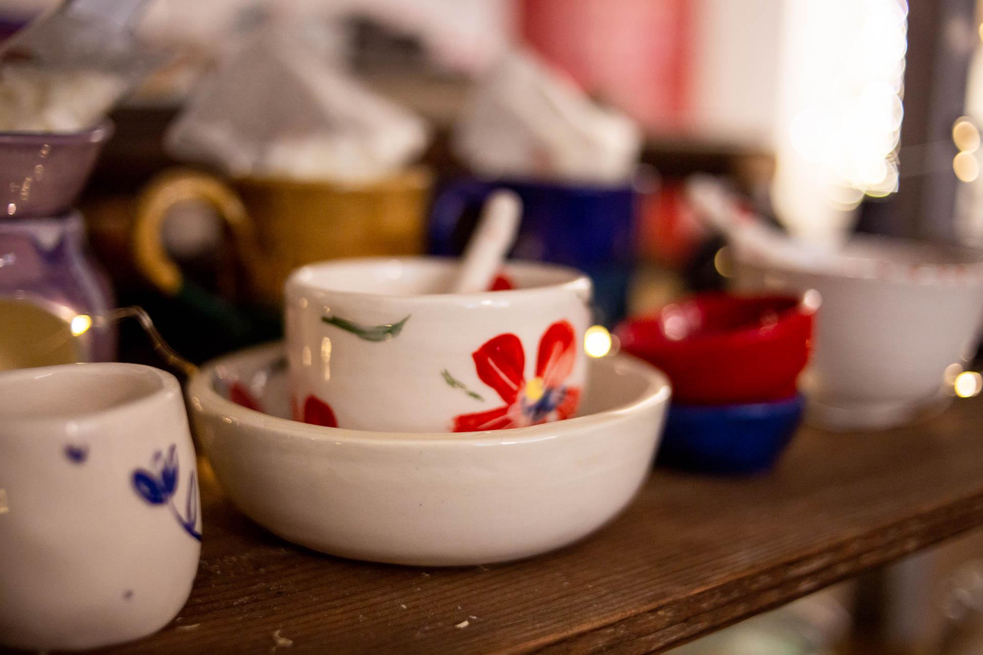 il fiore d'argilla ceramiche realizzate a mano in provincia di Prato