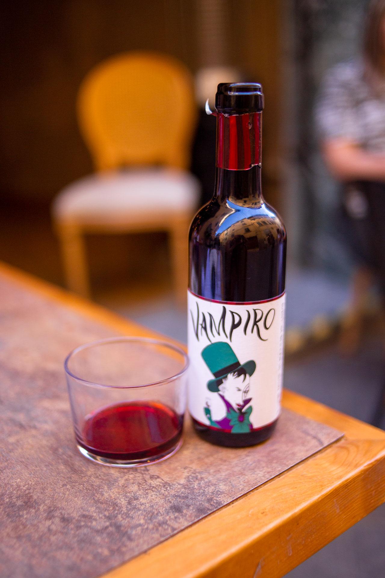 vino naturale affumicato
