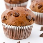 Easy Double Chocolate Brownie Muffins | Recipe at EverydayEasyEats.com