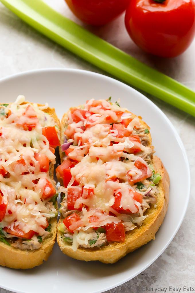 Easy 15-Minute Tuna Melts | EverydayEasyEats.com