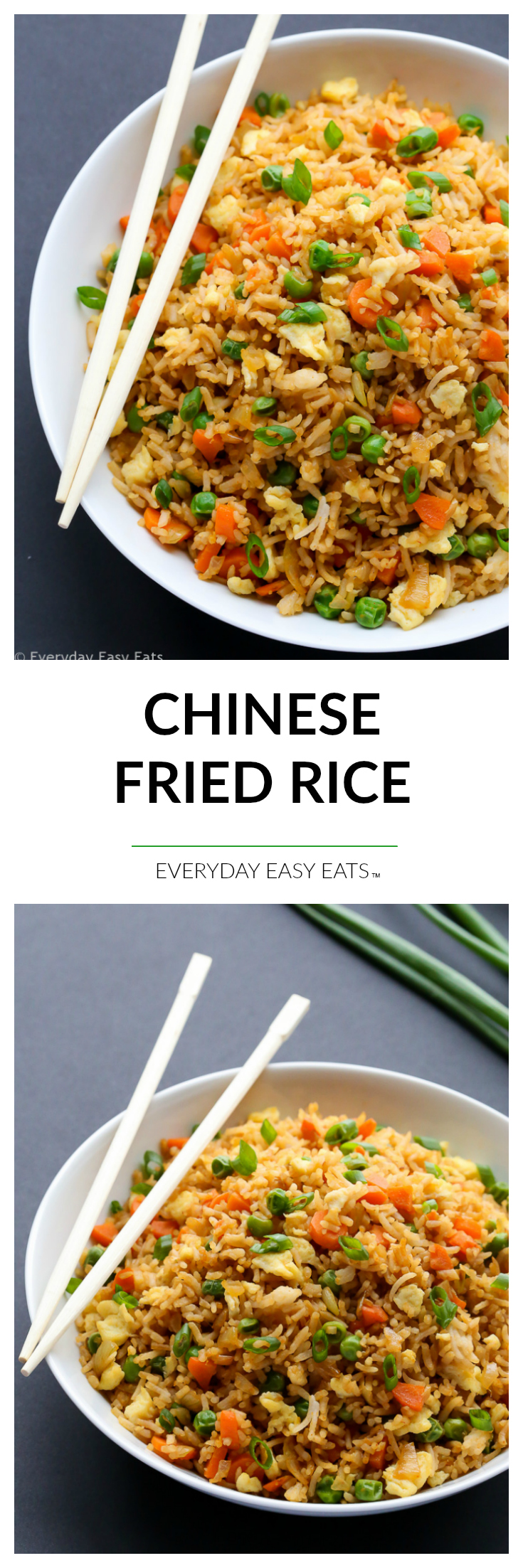 Easy, 15-Minute Chinese Fried Rice Recipe | EverydayEasyEats.com