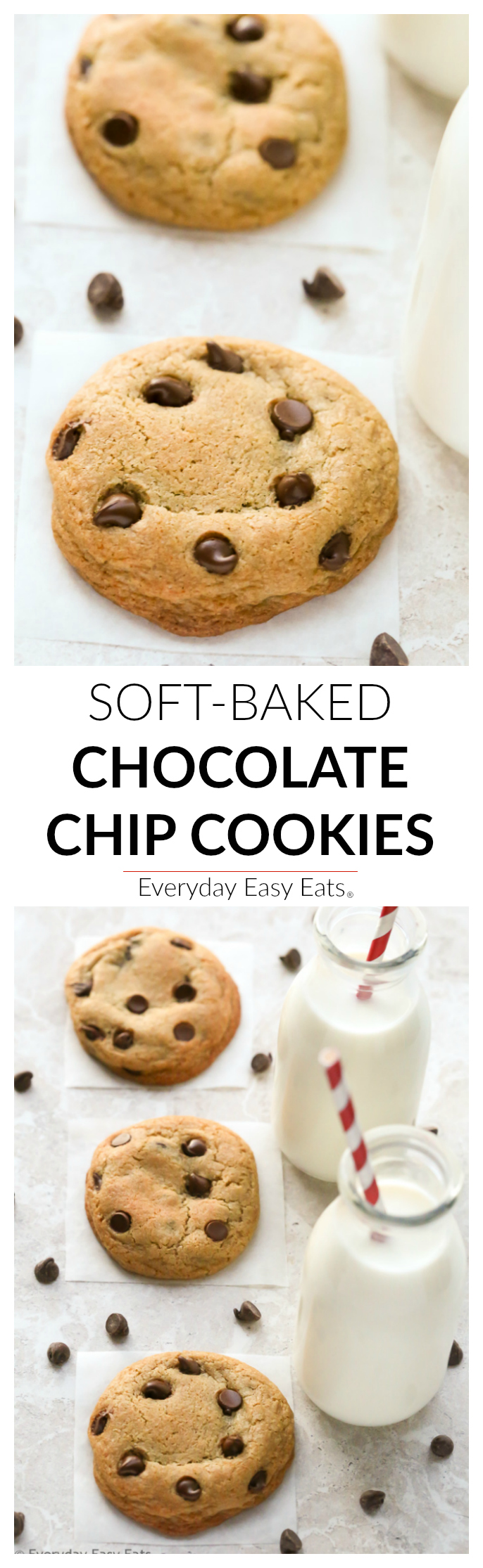 Soft & Chewy Chocolate Chip Cookies | Everyday Easy Eats