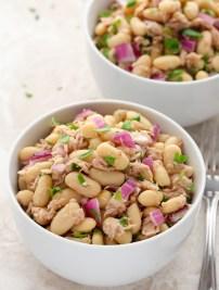 High-Protein Tuna & White Bean Salad