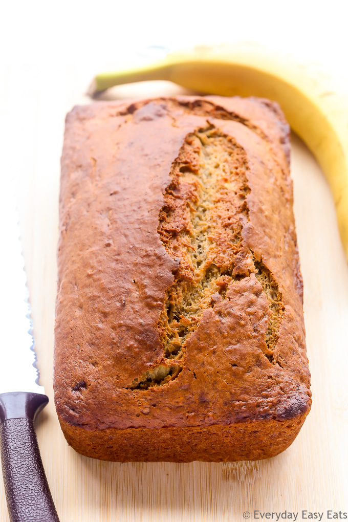 Best ever banana bread everyday easy eats the only banana bread recipe you will ever need perfectly moist bursting with banana forumfinder Choice Image