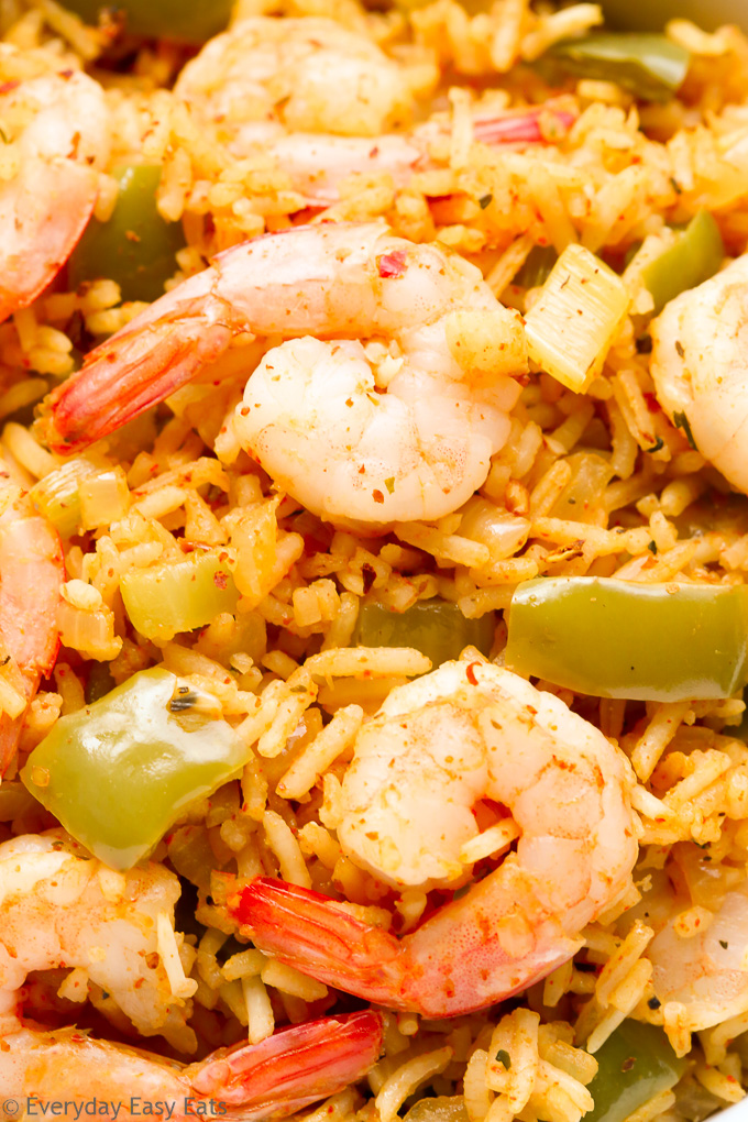 Easy One-Pot Cajun Shrimp and Rice | Recipe at EverydayEasyEats.com