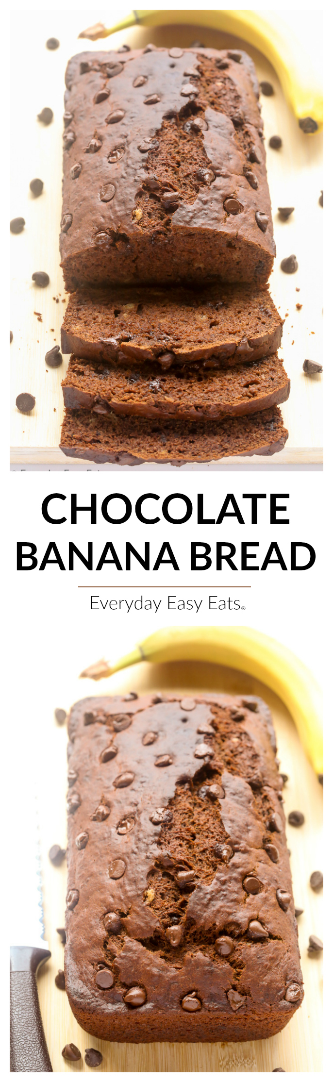 Chocolate banana bread everyday easy eats everyday easy eats all photos and content are copyright protected please do not use any of my recipes text or images without prior permission forumfinder Choice Image