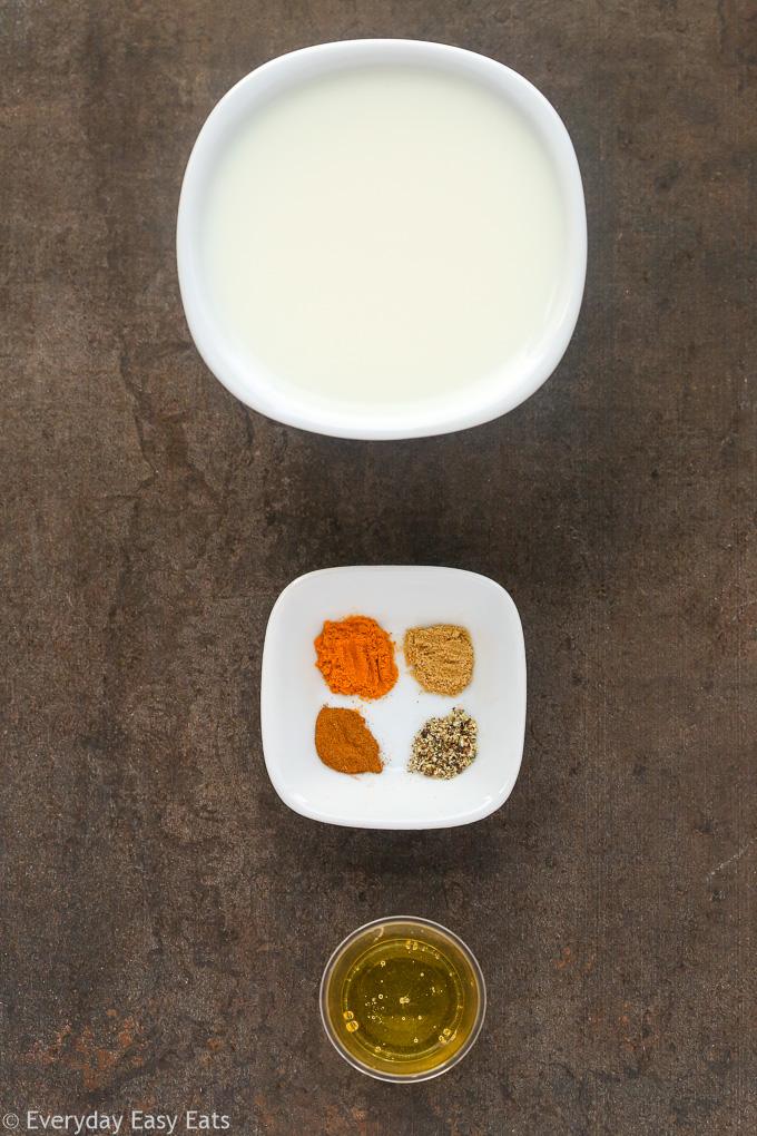 Easy 5-Minute Golden Milk | Recipe at EverydayEasyEats.com