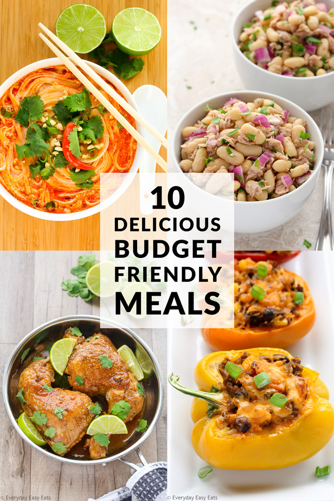 10 Budget-Friendly Meals | Recipes at EverydayEasyEats.com