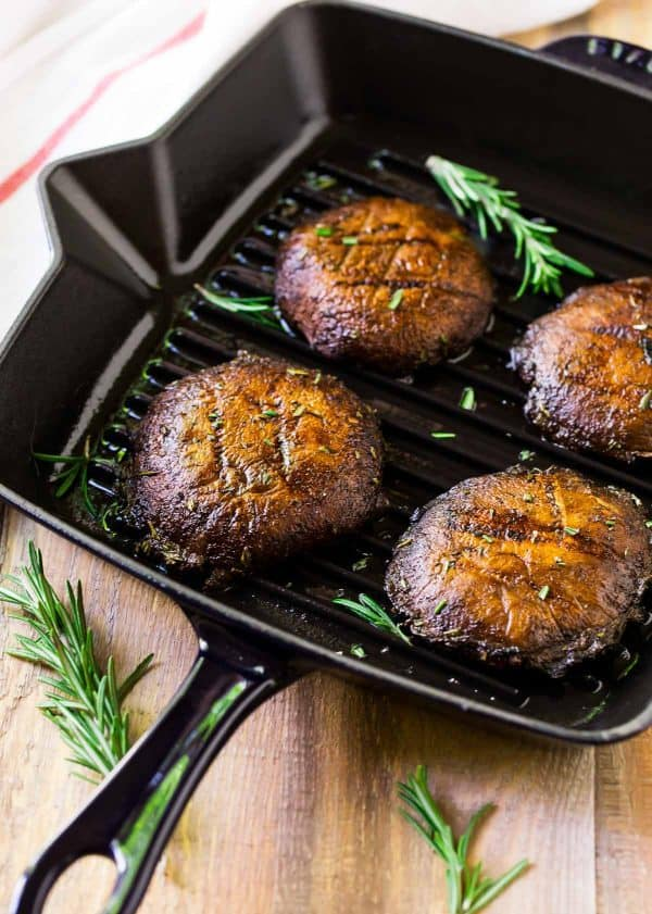 Healthy Grilling Recipes: Grilled Portobello Mushrooms