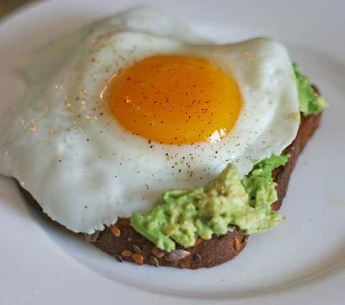 Avocado Egg Toast