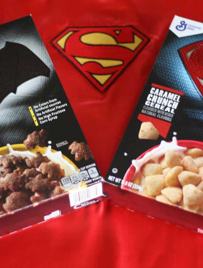 Batman vs. Superman – Super Hero Cereal! #superherocereals
