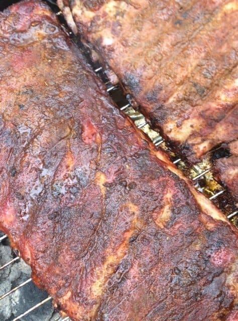 BBQ Pork Ribs with Spicy Dry Rub