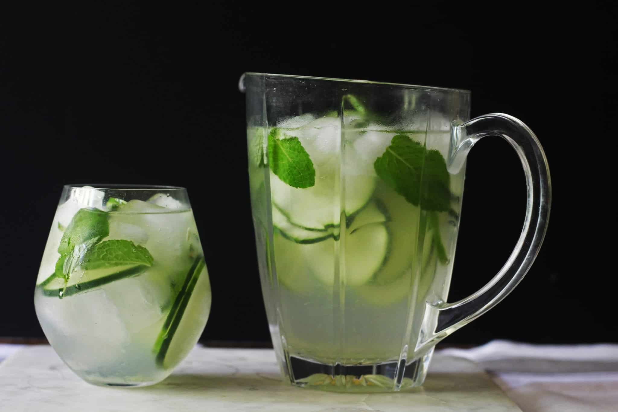 coconut cucumber splash