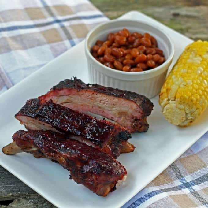 Blueberry Chipotle BBQ Baby Back Ribs