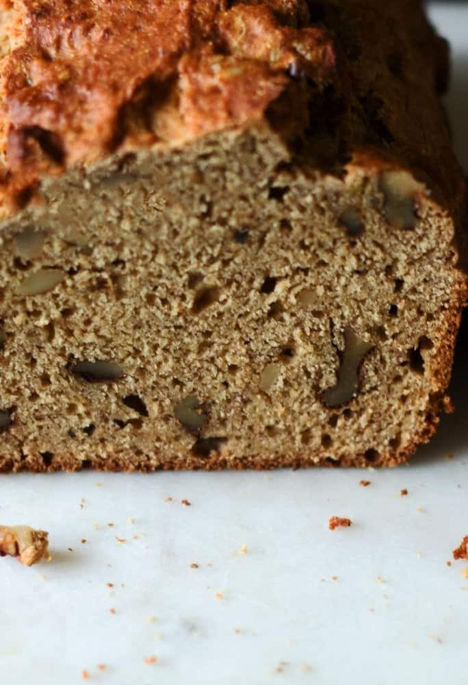 Low-Fat Banana Nut Bread | Everyday Eileen