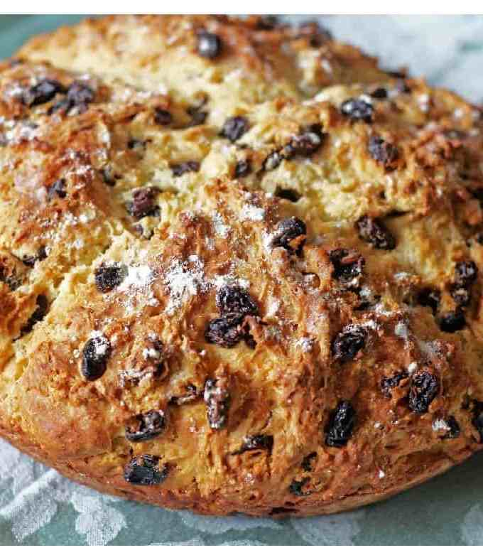 My Blue Ribbon Irish Soda Bread