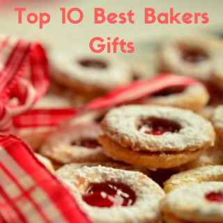 Cookies on a tray to show the top gifts for bakers