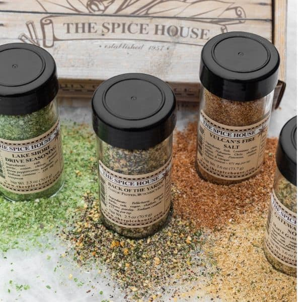 Spices from the spice house that are part of Summer Grilling giveaway