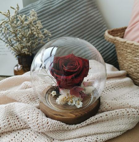 Everlasting Love (Preserved Flower Globe 永生花)